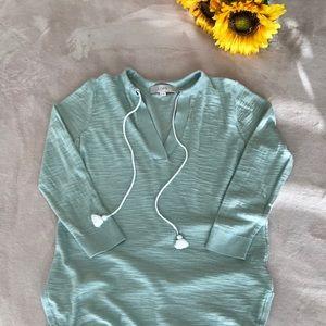 Loft mint green pullover top